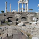 """Temple of Trajan, Pergamum, Turkey"" by raftergood"