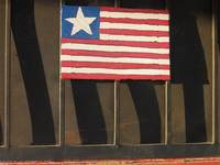 Art homage, Jasper Johns, encaustic, Eloy, AZ