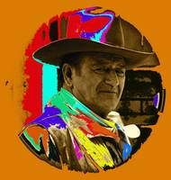 Art homage, Andy Warhol 2, John Wayne,