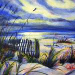 """Blue Beach"" by CDarleneCollins"