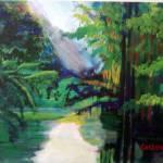 """Green Cypress"" by CDarleneCollins"