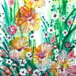 """Tiger Flowers Lilies IK"" by ArtSamadhi"