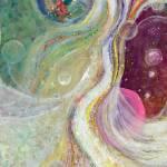 """Samadhi Bliss - Acrylic Painting"" by ArtSamadhi"