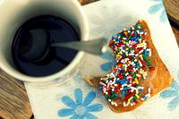coffee and sprinkles
