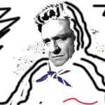 """Lit, Johnny Cash, ""Man in White,"" Old Tucson, AZ"" by davidleeguss"