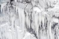 icicles on the Snoqualmie