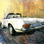 """Mercedes Benz W113 280 SL Pagoda"" by shevchukart"
