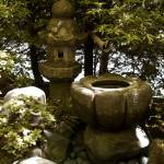 """stone-lantern"" by Gaylefleming"