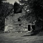 """old-barn-b&w"" by Gaylefleming"