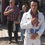 """Elvis pledging allegiance,  Tombstone, Arizona"" by davidleeguss"