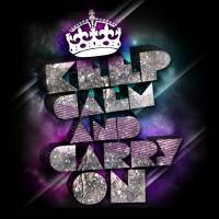 Keep Calm And Carry On Art Prints & Posters by Jessica Bongiorno