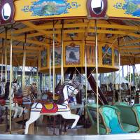 Carousel Art Prints & Posters by Marlene Challis