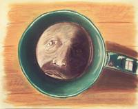Coffee cup portrait
