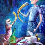 """ANGELS OF ZODIAC. CAPRICORN, THE SEA-GOAT (GOAT-HO"" by nesis"