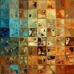 """""""Modern Tile Art 11, 2009"""" by MarkLawrence"""