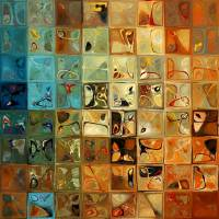 """Modern Tile Art 11, 2009"" by MarkLawrence"