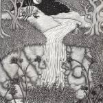 """""""Waterfall"""" by ApplebaumVisionaryArts"""
