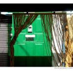 """Green Door Beyond Bamboo"" by grahamsale"