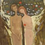 """Adam and Eve"" by arartplatform"