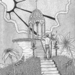 """Sacred Temple"" by ApplebaumVisionaryArts"
