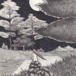 """Alone"" by ApplebaumVisionaryArts"