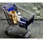 """Blue Cart"" by grahamsale"