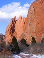 Evergreens and Garden of the Gods 0966