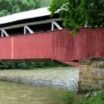 """Covered Bridge Panorama"" by joelpatrick"
