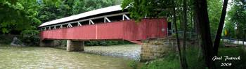 Covered Bridge Panorama