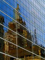 Reflection of 320 S. Boston Building