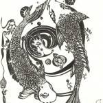 """Koi Tattoo Design"" by LeslieCoreen"