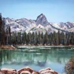 """Crystal Crag from Twin Lakes - Mammoth CA"" by awagner"