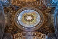 A ceiling of St.Peter's Basilica, Vatican City