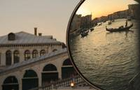 A Venetian Sunset across Rialto Bridge