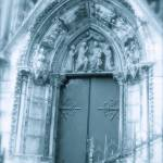"""Notre Dame Portal"" by VaughnBullard"