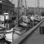 """""""Nyhavn Boat Scene"""" by VaughnBullard"""