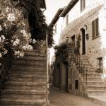 """Tuscan Stairways 2"" by DonnaCorless"