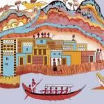 """""""New Minoan Admirals Flotilla Fresco Thera Scene"""" by MinoanAtlantis"""