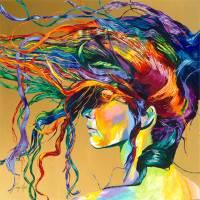 Windswept Art Prints & Posters by Linzi Lynn