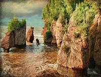 Hopewell Rocks, NB (High Tide)