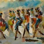"""""""Ladies Dancing"""" by Delilah"""