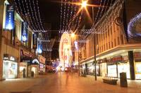 Darlington Town Centre at Christmas Time