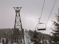 Ski lift old and new
