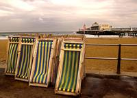 Deckchairs at Bournemouth
