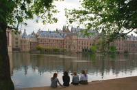 Binnenhof with future MPs