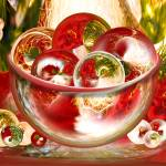 """Christmas Circles"" by tricia"
