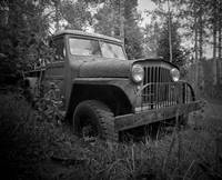 antique jeep