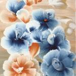 """Rising Blue Flowers"" by StudioArtsGroup"