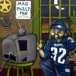 """""""Mad Philly Fan in Texas"""" by monalisyartist"""
