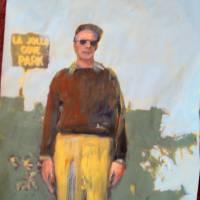 Max Visits La Jolla Park Art Prints & Posters by lisa bebi